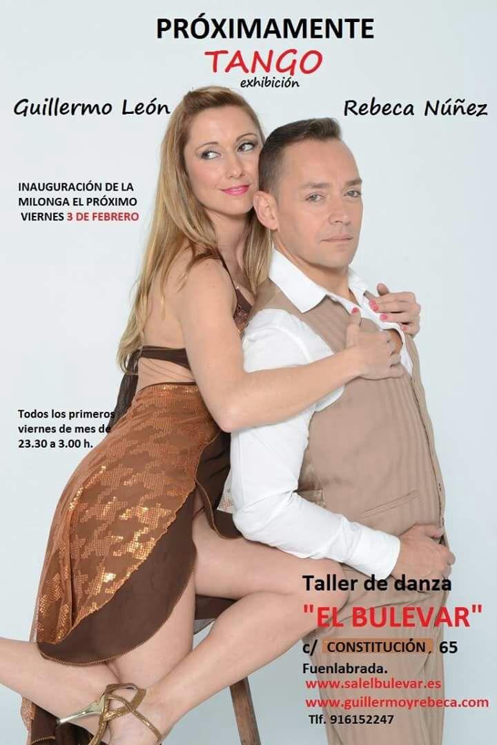 Exhibicion tango en la Sala El Bulevar