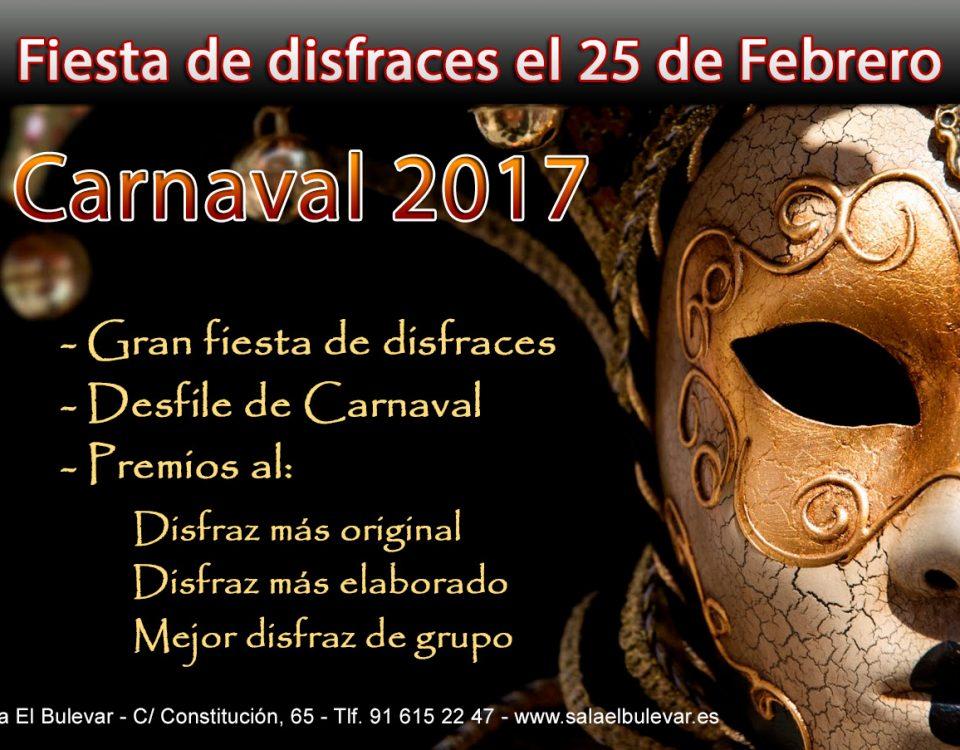 carnaval2017 en la sala El Bulevar
