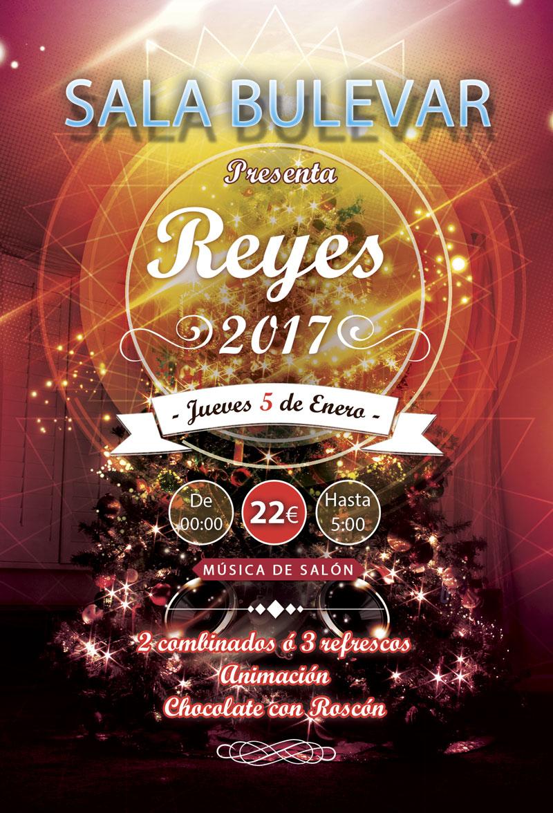 Reyes 2017 en la sala El Bulevar