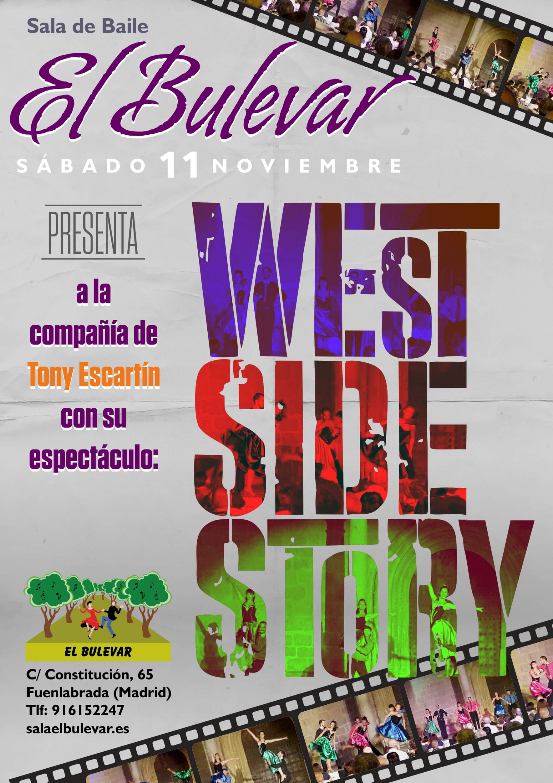 West Side Story en la Sala El Bulevar